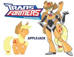 Transformares Applejack by Inspectornills