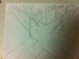 2 point perspective by damnyouautocarrot