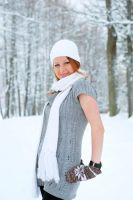 Lidia in Winter by SmileyG