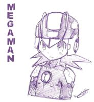 Megaman by WANNA-BE-RIKU