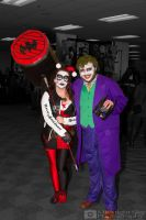 Harley Quinn and Joker cosplay by MidnightSkyPhoto