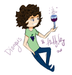 Dionysus Chibi by Firefly2fairy