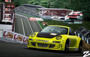 Porsche 997 GT3 RSR at Spa 2 by ZowLe