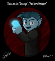 OH -The Name's Daemyn by caat