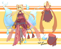 Sweet Kitsune Adopt Auction [CLOSED] by Kaiapi