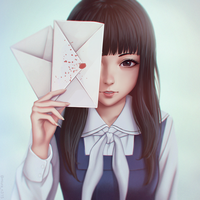 Root Letter by miura-n315