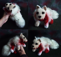 FOR SALE - Zombie Arctic fox by goiku