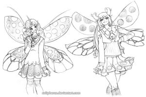 faery schoolgirls apparently by solipherus