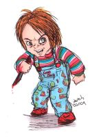 I'm chucky, wanna play? by Konstance