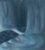Ice cavern by floravola