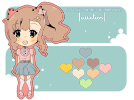 'Neutral Gyaru' Adoptable CLOSED by dolly-pon