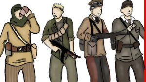 The Nazi Zombies Crew by AddictedMenace