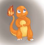 Charmander Speedpaint by Kalietha