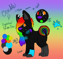 Crackle Reference Sheet 2014 by CollectionOfWhiskers