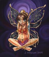 Tribal Fairy: Purple by JessiBeans