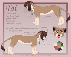 2013 Reference Sheet- Tai by Kamis-Cafe