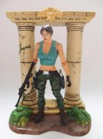 Lara Croft Camo Pants custom action figure by Jedd-the-Jedi