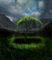 Shining Tree by MonstrousDesigns