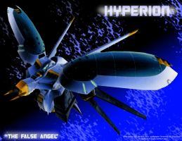 Hyperion wallpaper by crovirus