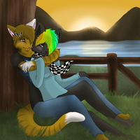 Start of a Journey With You :COMMISH: by VenetusVulpes
