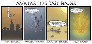 Avatar The Last Bender by ShadowMaginis