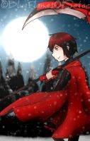 Ruby Rose [RWBY] by BlueFlamesOfSatan