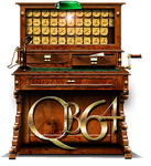 Steampunk Quickbasic 64 Icon by yereverluvinuncleber