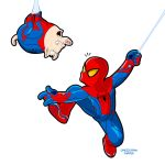 Spiderman and Spiderpig by MOROTEO56