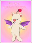 Valentine's Day Moogle Version by ErinPrimette
