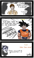 Death Note + DragonballZ Omake by doodleplex