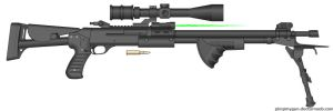 S-967 AMR Augmented Marksman Rifle by BurnerMeen