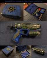 Nerf Firestike Mod with Box: The Commodore by Sathiest-Emperor