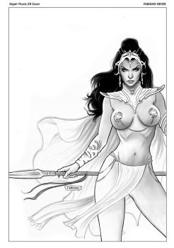 Dejah Thoris 29 Cover by FabianoNeves