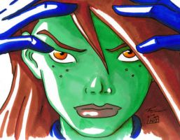Young Justice Miss Martian by PDInk