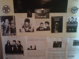 Part 1 of my Jared Leto wall by EchelonMars14