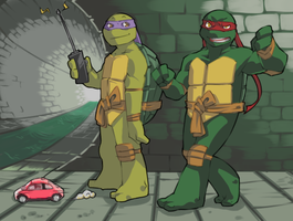 TMNT-Grumbling by tmask01