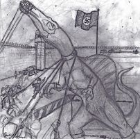Spinosaurus and the Nazis by EmceeLees