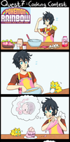 PokemonRainbow-Q7-CookingContest by Magicalcat