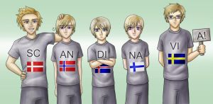 APH: Scandinavia by Lord-Evell