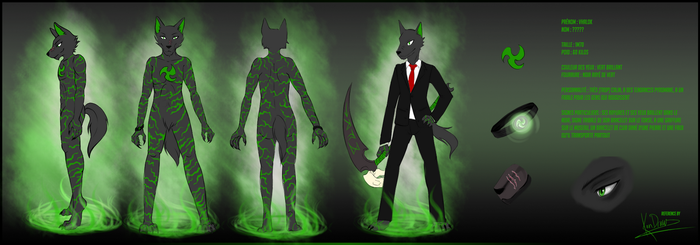 Reference sheet commission by KanDraw