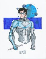 Nightwing Markers 2-13 by Glwills1126