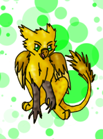 Baby Griffin by Moonflight-RiverClan