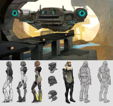 Space Concepts by taho