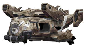 Call of Duty Advanced Warfare Unknown Aircraft by Matbox99