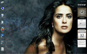 Salma Hayek Desktop by RafkinsWarning