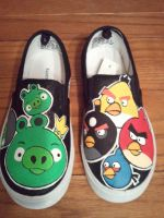 more custom shoes by Miss-Melis