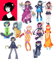 Homestuck Dump 10 by Kuripu