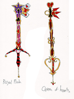 My Keyblades by ckt