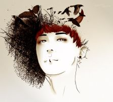 G-Dragon - Monster by Hitomi-Michie