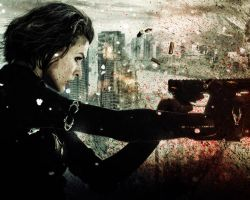 Resident Evil: Retribution. Wallpaper by StalkerAE